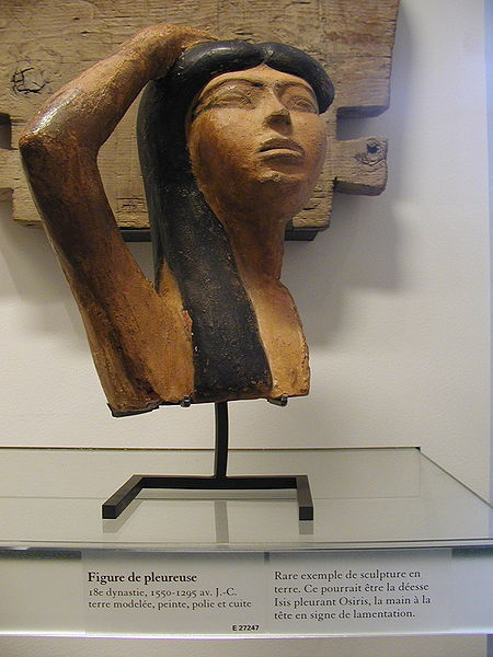 Terracotta Goddess Isis from 18th Dynasty Collections