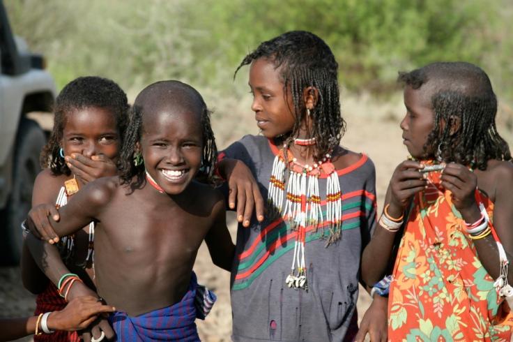 Afar Ethiopians Girls