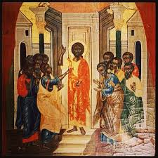 Early Painting of African Jesus (Yeshua) from Coptic Museum in Cairo, Egypt (6th century BC)