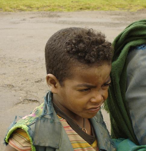 Amhara Ethiopian Boy