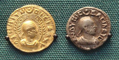 Coinage of King Endubis of Axumite Ethiopia227-235CE