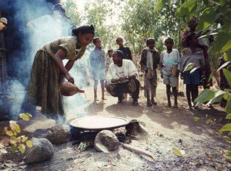 Falasha ፋላስሃ  Ethiopians from Gondar ጎንዳር 2006