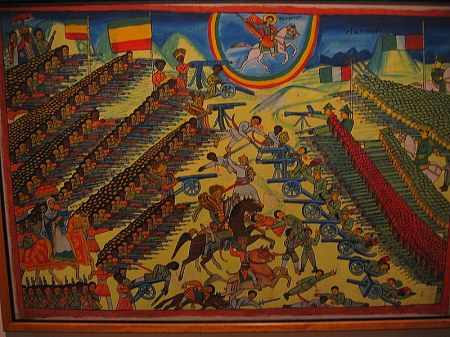 Abyssinian- Italian War in Adwa 1896