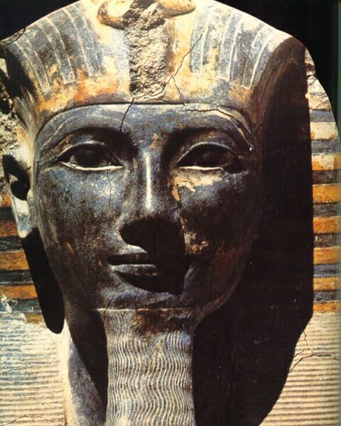 King Thutmose. III the 18th Dynasty