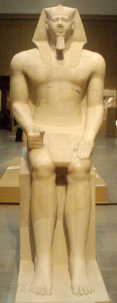 Menkaura-ColossalStatue@Museum Of FineArts Boston