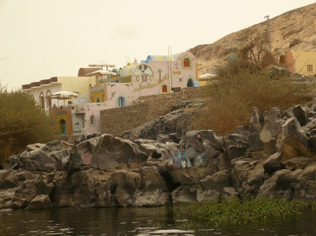 Nubian Village along Nile