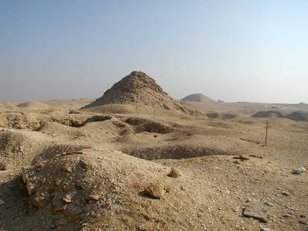 Pyramid ruins Of Userkaf Founder of the 5th Dynasty