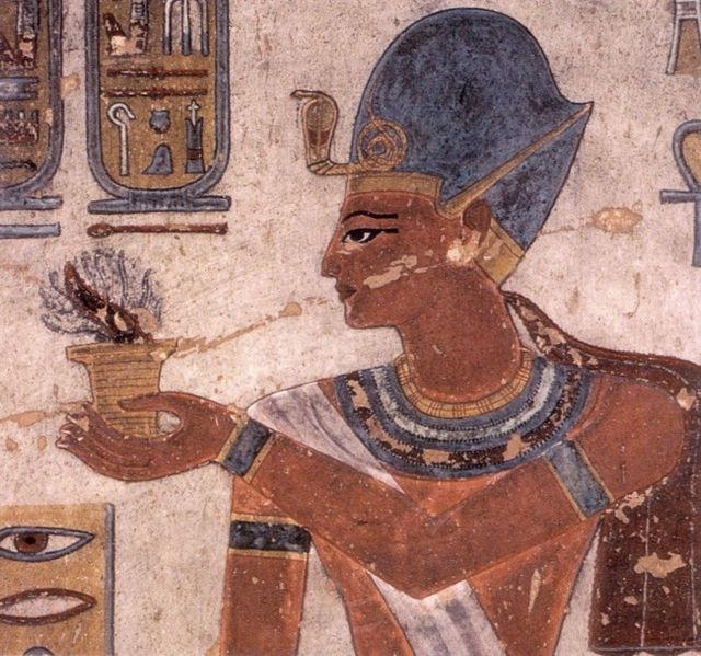 Ramsses III from tomb KV11,
