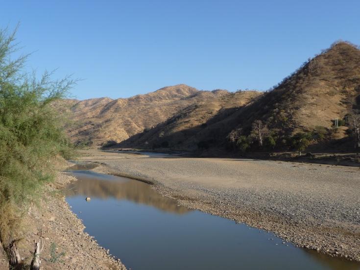 Tekeze River ተከዘ ሪቨር of Eritrea/Ethiopia