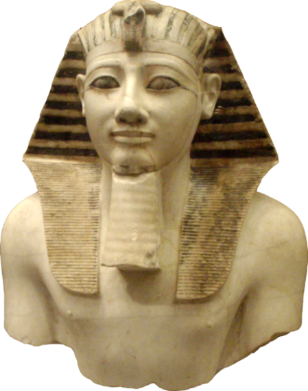 Thutmose III the 18th Dyanasty (marble display)