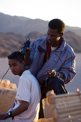 Tuareg Barber and Tuareg Teen... Afro-Asiatic Family