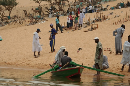 Nubian on the Shore of the Nile