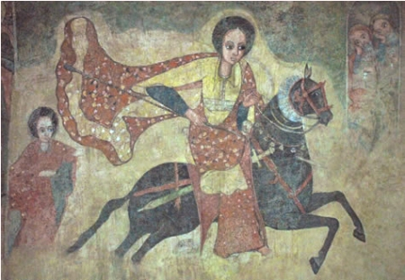 Ethiopian- Afro Queen of Sheba : Makeda ማከዳ