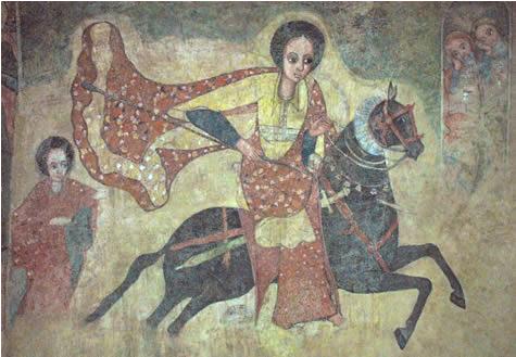 Ethiopian- Afro Queen of Sheba : Makeda ማከዳ