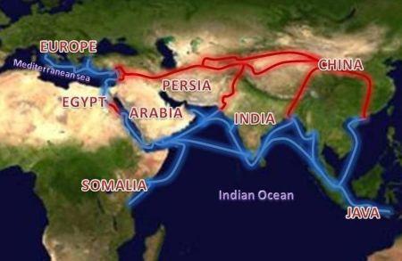 Axumite-Silk Route