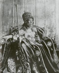 Negus-King of Ethiopia Emperor_Menelik_II